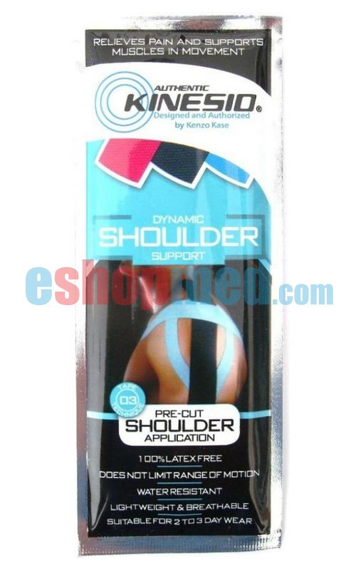 how to put kinesiology tape on shoulder