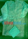 Disposable Non Woven Examination Blouse Color Green